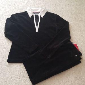 Tommy Hilfiger Velour Suit